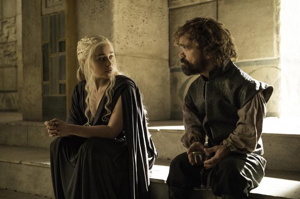 Game Of Thrones, Daenerys, Tyrion, final ep, season 6, Mon 27 Jun