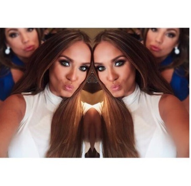 Geordie Shore star Vicky Pattison shows off her new longer and lighter hair on Instagram, 20th June 2016