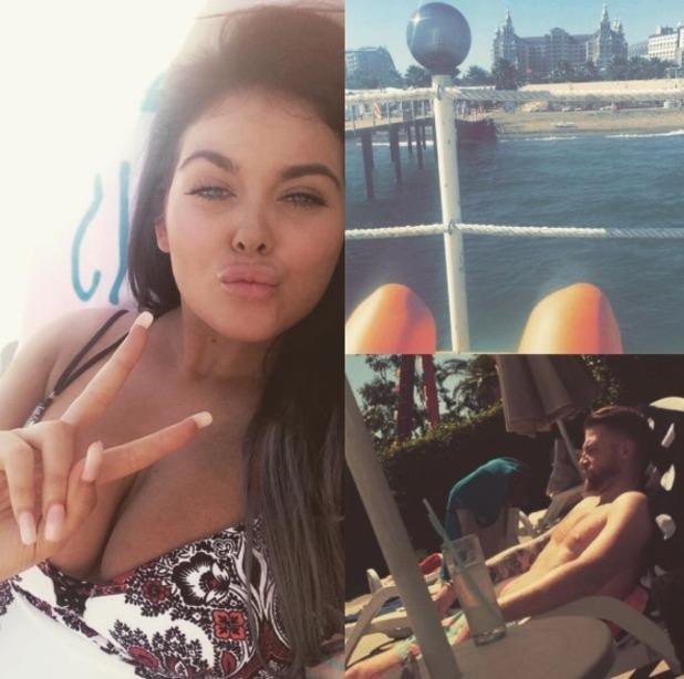 Scarlett Moffatt and Luke Crodden enjoy first holiday together - 21 June 2016