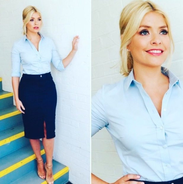 This Morning presenter Holly Willoughby's outfit divides opinion on Instagram, 21st June 2016