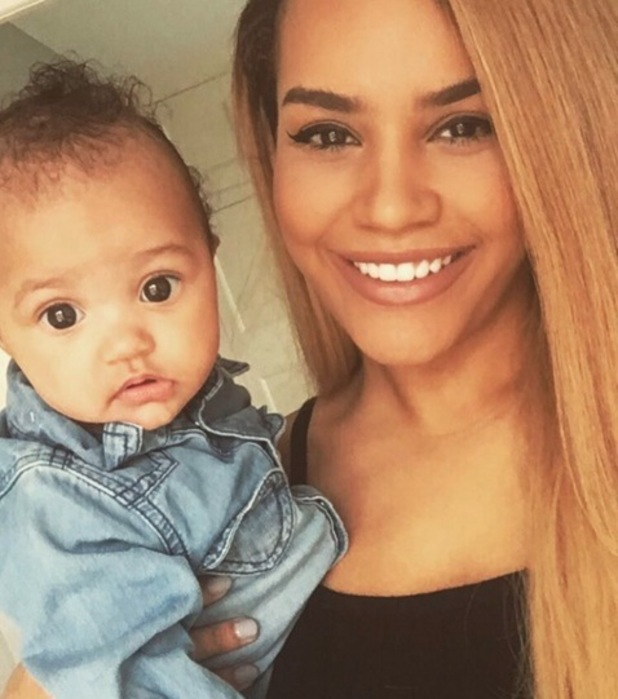 Latyesha Grace and daughter Wynter, Instagram