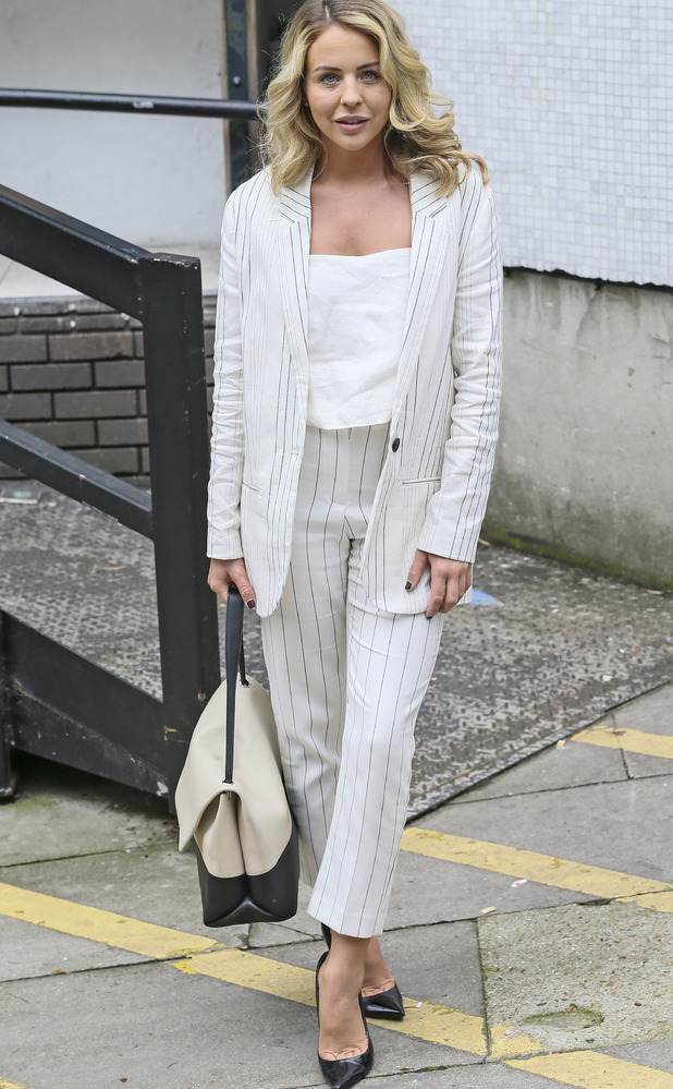 TOWIE star Lydia Bright pictured leaving the ITV Studios in London, 23rd June 2016