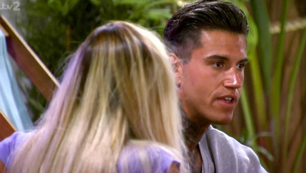 Love Island: Terry talks to Liana Episode 25