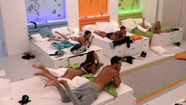 Love Island: Malin and Terry 'have sex' while islanders watch Episode 24, 22 June 2016