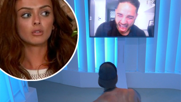Love Island: Scott Thomas gets phone call from home from twin brother Adam 21 June