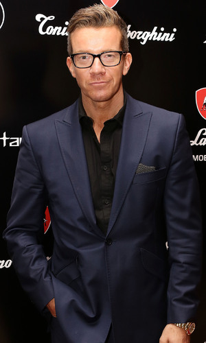 Max Beesley attends Lamborghini TL 66 - mobile launch party 29 May 2014