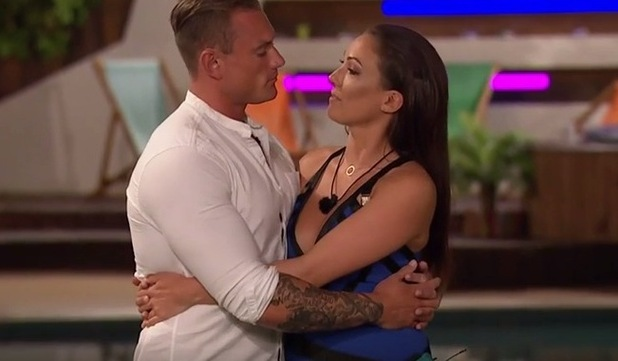 Sophie and Tom in the bottom two, Love Island 30 June