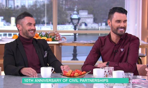 Rylan Clark-Neal, Dan Clark-Neal on This Morning, ITV 4 December