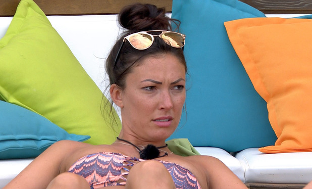 Sophie Gradon falls out with Emma, Love Island 30 June