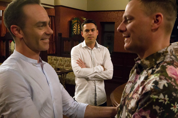 Corrie, Todd jealous of Billy and Sean, Wed 6 Jul