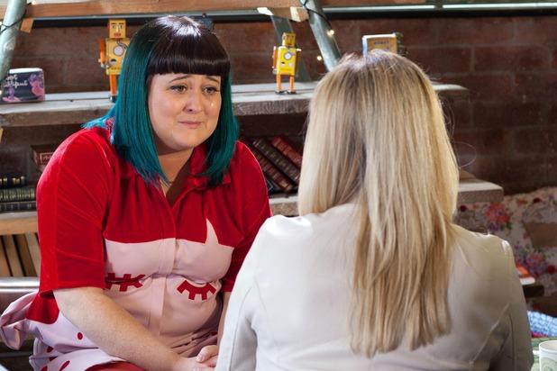 Hollyoaks, Tegan begs Diane not to leave, Wed 13 Jul