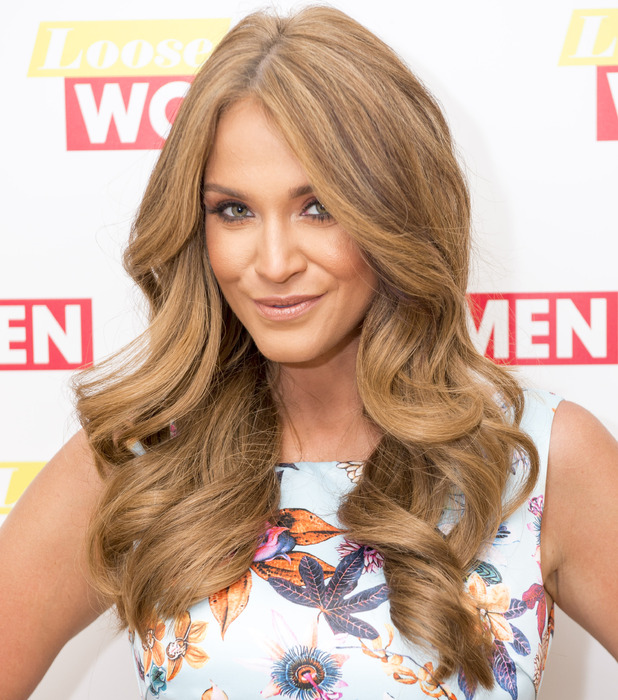 Vicky Pattison shows off much lighter hair on Loose Women, 29th June 2016
