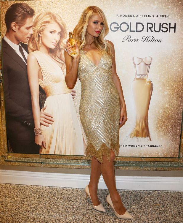 Paris Hilton launches her 20th fragrance, Gold Rush in Los Angeles, 30th June 2016