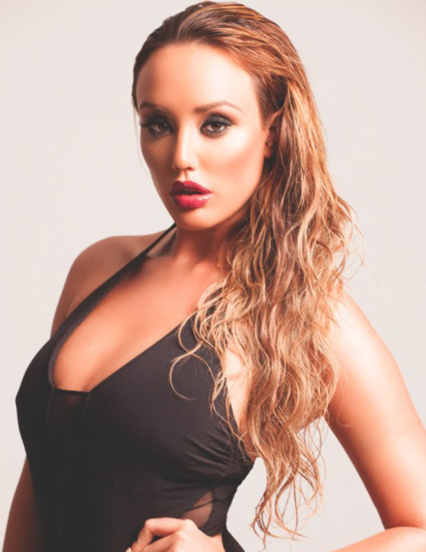 Charlotte Crosby, Geordie Shore, announced as the new face of Easilocks hair extensions, 29th June 2016