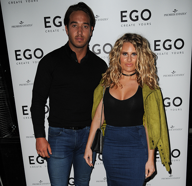 Danielle Armstrong and James 'Lockie' Lock Ego shoe party, 2016