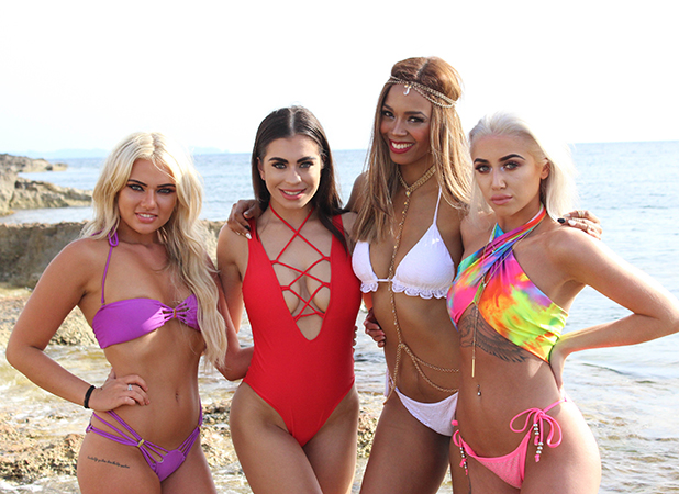 Sinead, Katie, Kasey and Chelsea - Love Island Episode 33
