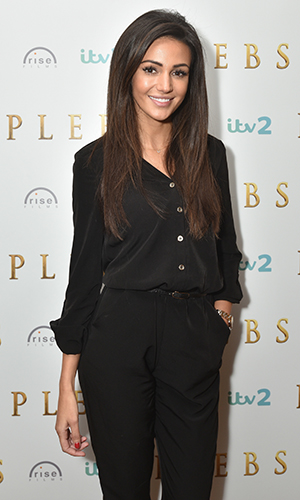 Cast of 'Plebs' attend the press launch at Covent Garden Hotel. Michelle Keegan