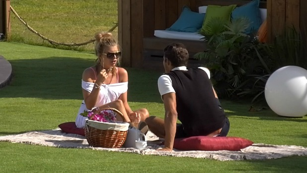 Love Island episode 35: Alex and Kate on date