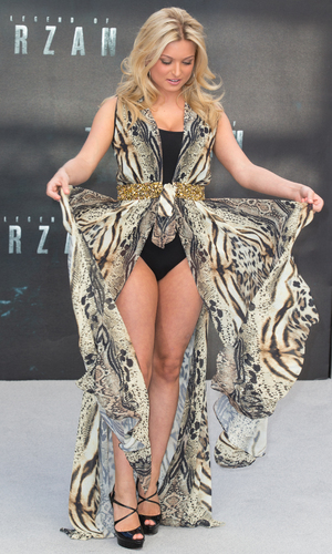 Zara Holland at The European Premiere of 'The Legend of Tarzan' held at the Odeon Leicester Square - 5 July 2016