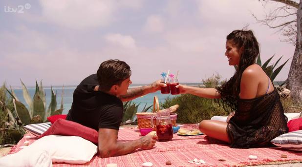 Love Island: Malin and Terry