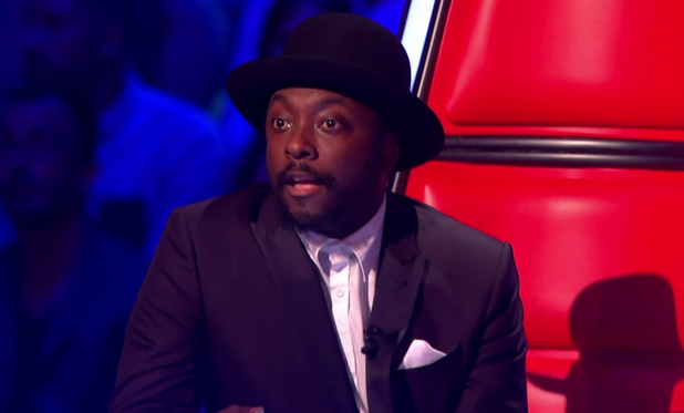will.i.am on The Voice 9 April