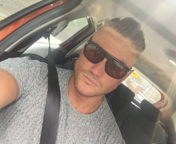 Tom Powell has his top knot cut off - 5 July 2016