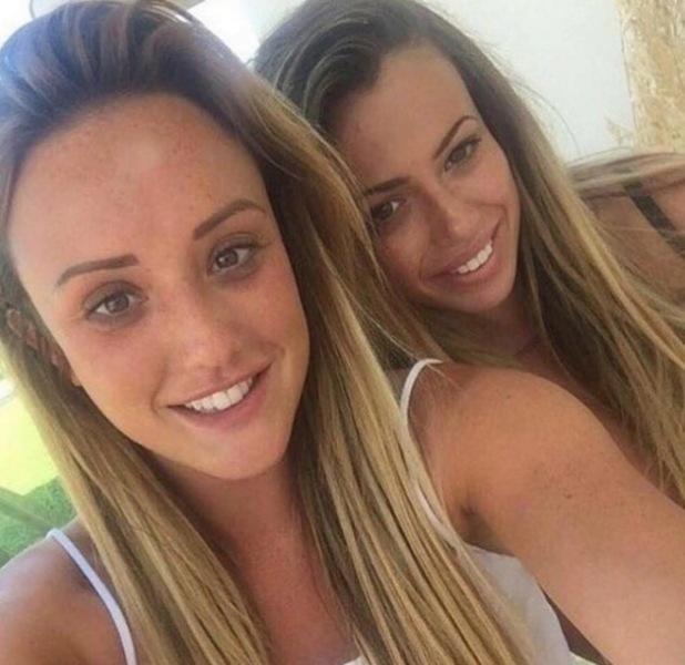 Charlotte Crosby and Holly Hagan selfie, Instagram 5 July