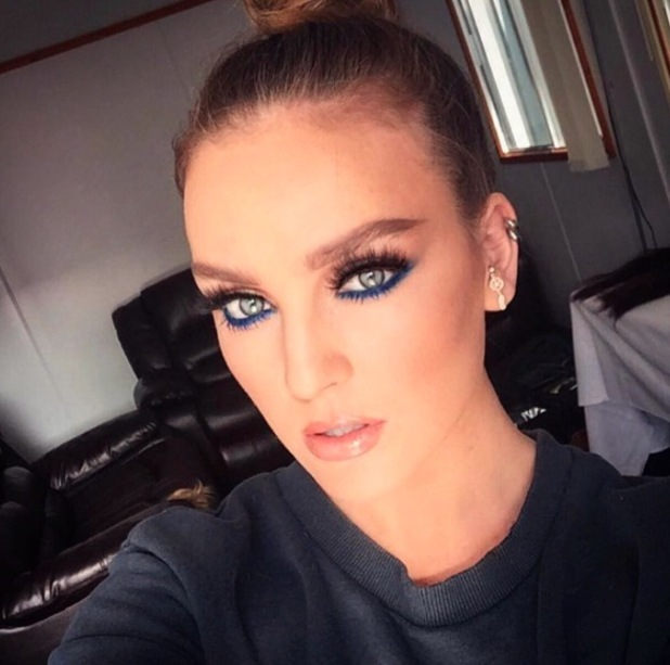 Little Mix star Perrie Edwards wears Barry M eyeliner, 5th July 2016