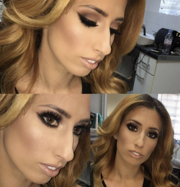 Stacey Solomon, behind-the-scenes make-up by Krystal Dawn, 5 July 2016
