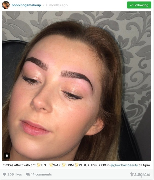 Kady McDermott accused of stealing a make-up artists pictures and passing them off as her own on Facebook and Instagram, 7th July 2016