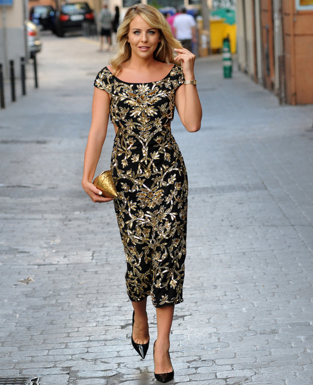 TOWIE star Lydia Bright filming the new series of The Only Way Is Essex in Palma, Majorca, 3rd July 2016