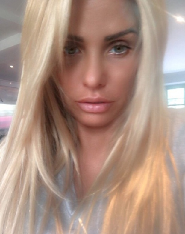 Katie Price opts for longer, blonder hair extensions thanks to Easilocks and hair dresser Mikey Kardashian, 4th July 2016