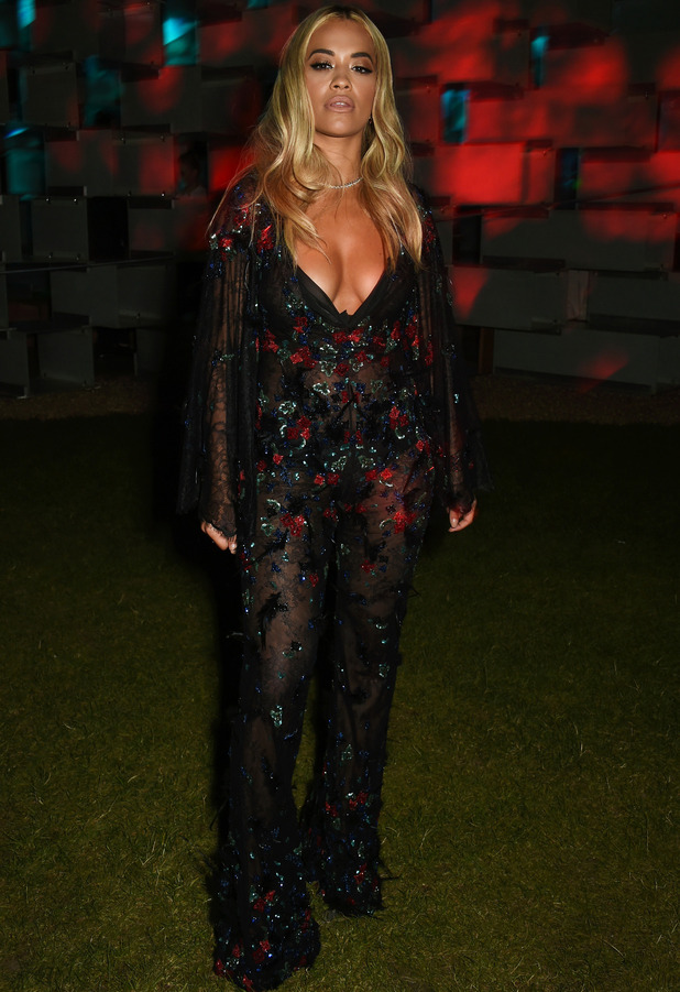 Rita Ora attends the Serpentine Gallery Summer party in London, 7th June 2016