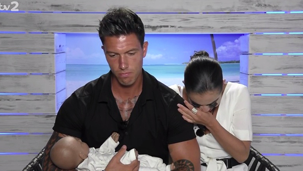 Love Island episode 40: Adam and Katie's first night together is interrupted by a baby 8 July 2016