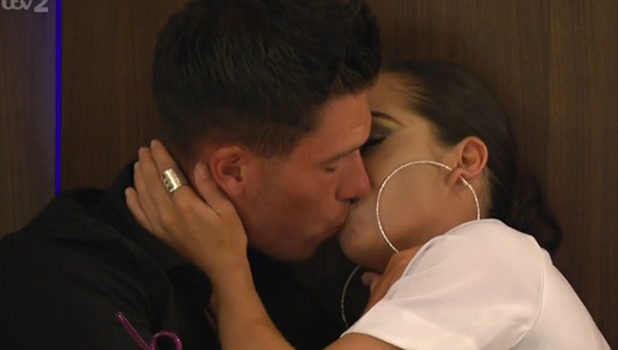 Love Island episode 39: Adam Maxted and Katie Salmon kiss