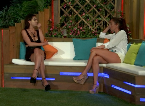 Love Island episode 38: Katie and Sophie talk