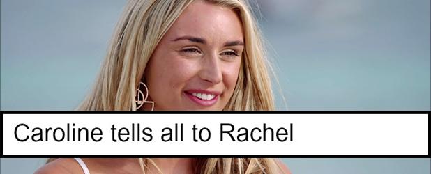 Love Island series 2 shocks: Caroline tells Rachel about Rykard