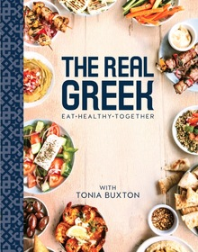 The real greek cookbook with tonia buxton cover shot