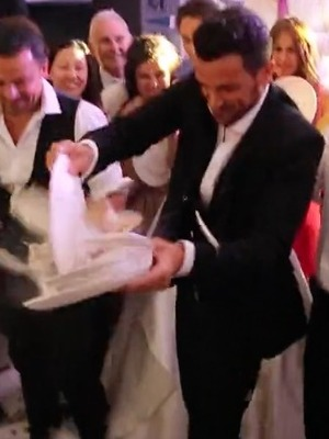 Peter Andre and Emily MacDonagh share video of wedding day - 11 July 2016