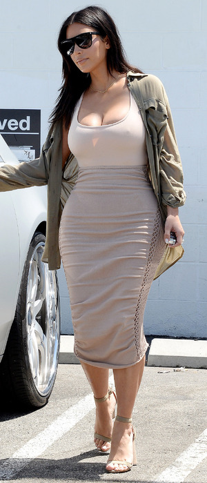 Keeping Up With The Kardashians star Kim Kardashian out and about in Los Angeles, 11th July 2016