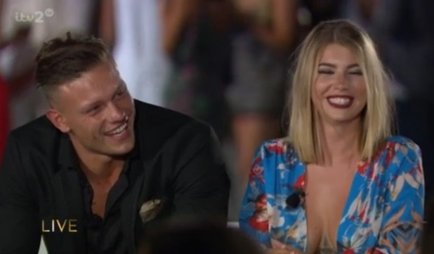 Love Island Final 2016: Olivia and Alex