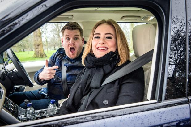 Carpool Karaoke, James Corden, Adele, Sky1, Tue 19 Jul