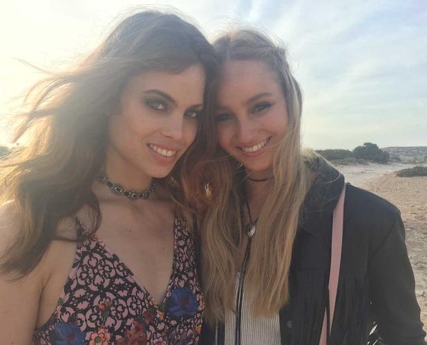 Models in Ibiza 11th July 16