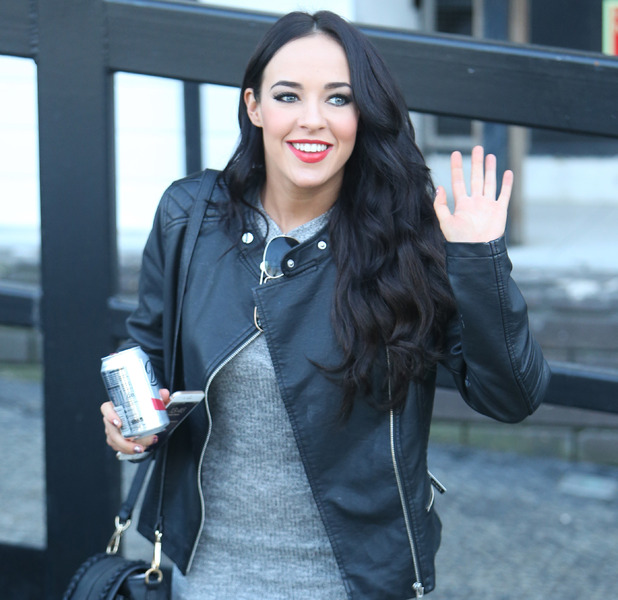 Stephanie Davis pictured outside ITV Studios in London, 2/09/2015