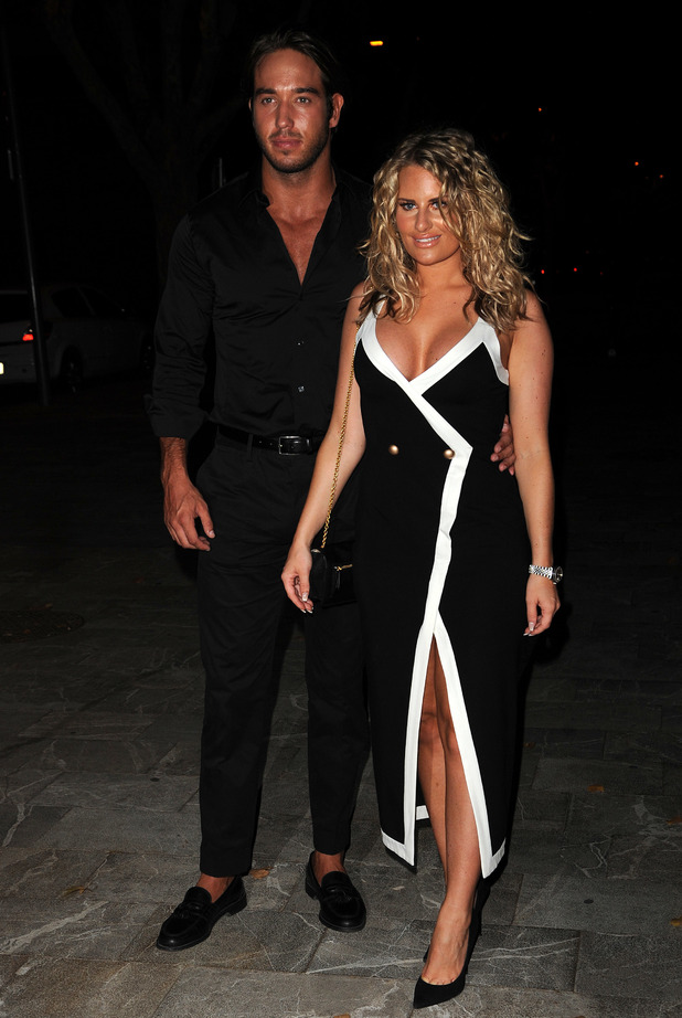 Danielle Armstrong and James Lock, Mallorca 4 July