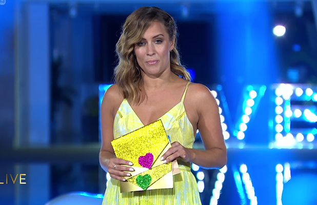 Love Island: Caroline Flack hosts the finale 11 July 2016