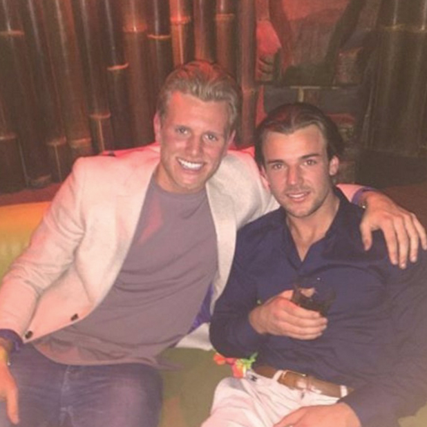 Tommy Mallet and Nathan Massey in Instagram picture, July 2016