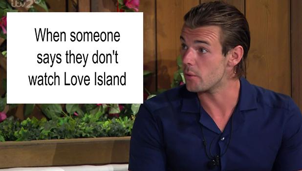 Nathan Massey on Love Island, 2016