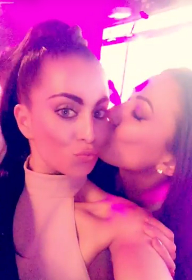 Love Island: Sophie and Katie reunite at wrap party 14 July 2016