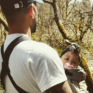 Lateysha Grace's ex Ben Charles with daughter Wynter